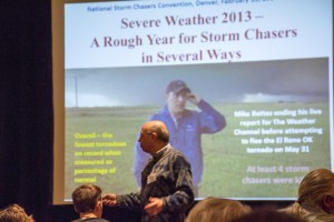 Dr. Greg Forbes of The Weather Channel