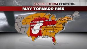 May U.S. Tornado Risk