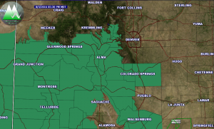 Friday August 5 Flash Flood Watch Area
