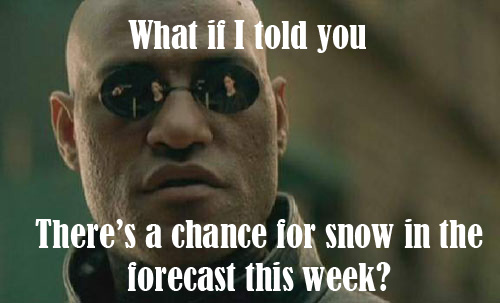 Castle Rock Weather - Snow in May?