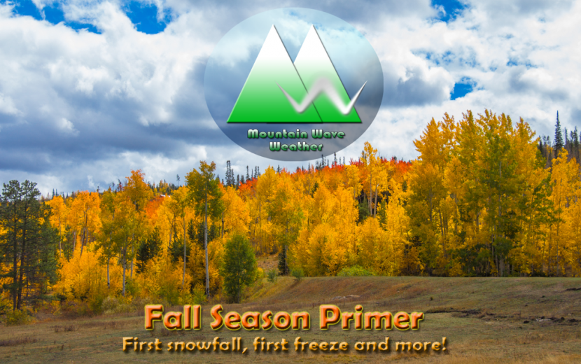 Colorado Weather   Fall Primer   Fall Guide   Snowfall   Freeze   Palmer Weather