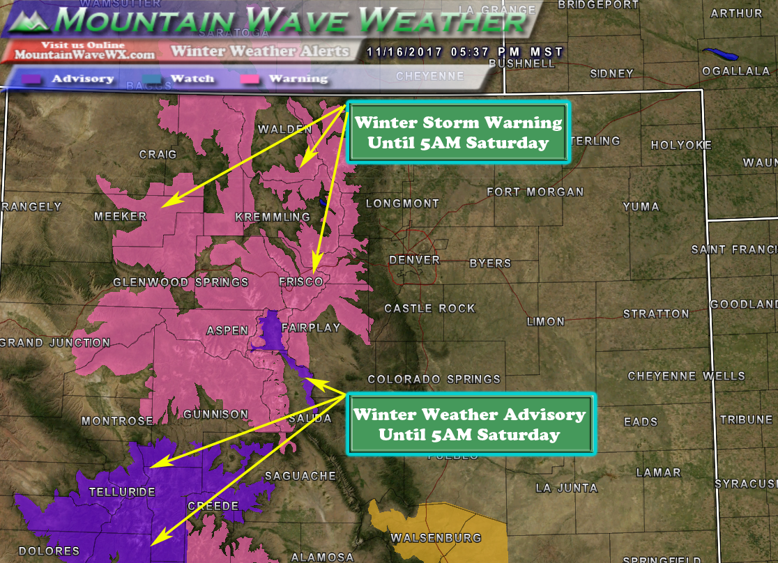 Large Storm System Takes Aim at Colorado This Weekend ...
