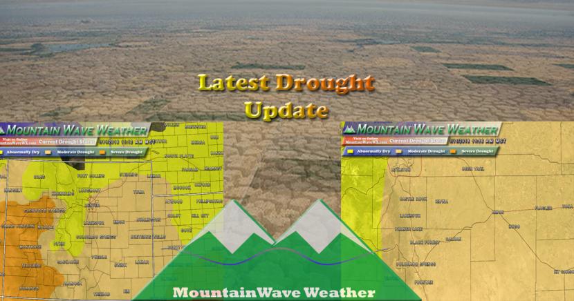 Colorado Weather   Drought Status January 2018   US Drought Status