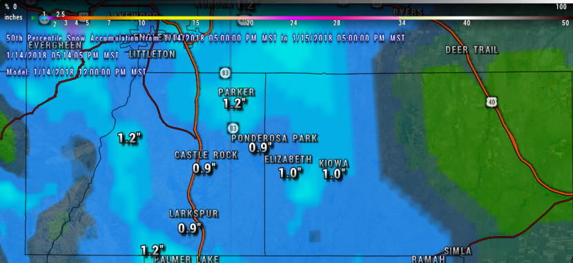 Winter Weather   Castle Rock CO Weather   Weather Castle Rock CO   Palmer Divide Weather   Snow Storm   Colorado Weather