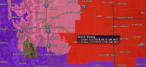 Blizzard Warning | Winter Storm Warning | Winter Weather Advisory | Colorado Weather | Palmer Divide Weather | Castle Rock CO Weather