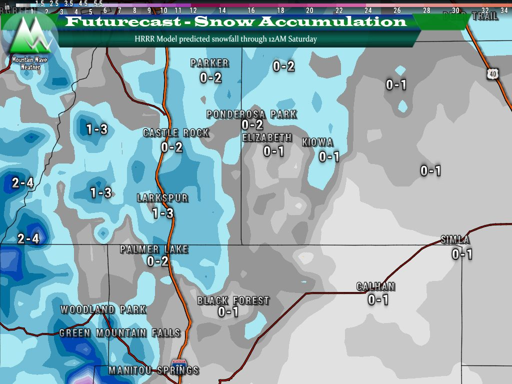 Castle Rock Weather | Castle Rock Co Weather | Palmer Divide Weather | Snowfall amounts | Castle Rock Snow | Palmer Divide Snow