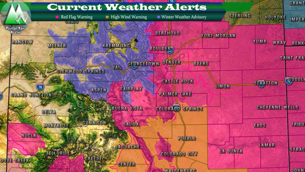 Colorado Weather Alerts | Red Flag Warning | High Wind Warning | Winter Weather Advisory | Castle Rock Weather | Palmer Divide Weather