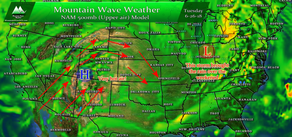 Colorado Weather | Castle Rock Weather | Temperature Outlook | Colorado Front Range Weather | Mountain Wave Weather